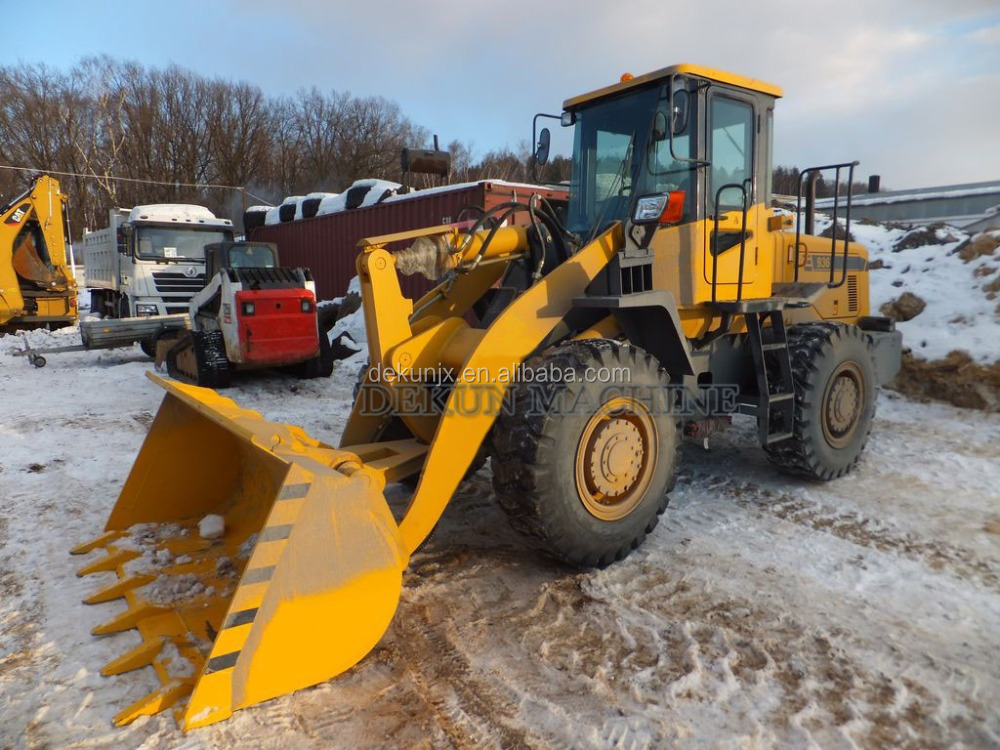 Cheap Price 92KW Diesel Engine 3T Mini Small Used Shovel Wheel Loader For Sale
