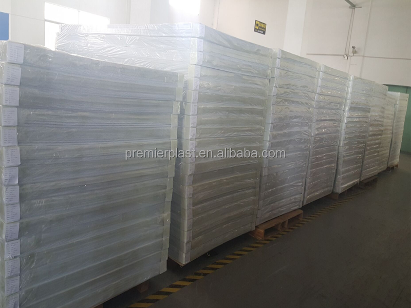 Colorful PP hollow sheet corrugated plastic Fluted Plastic Sheet Polypropylene Board
