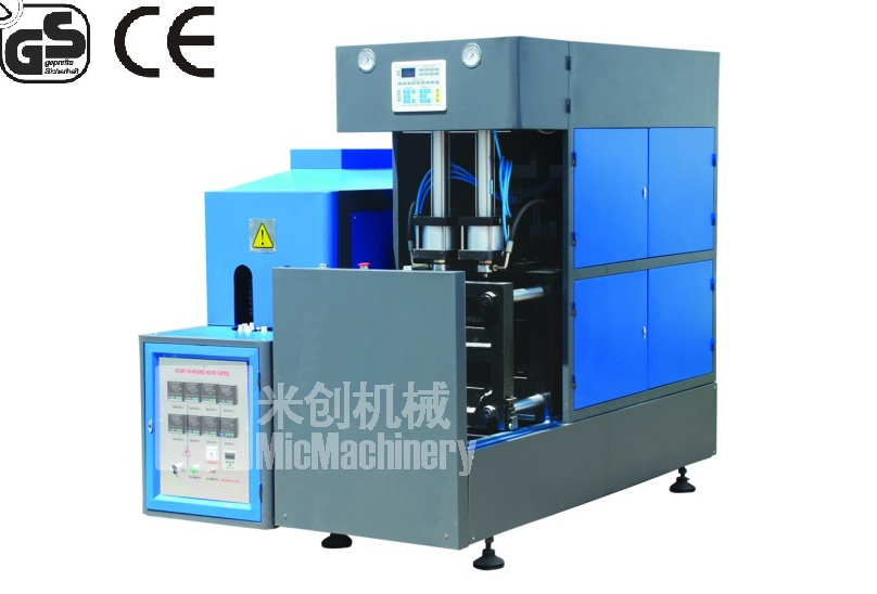 MIC-8Y1 Semi-auto plastic bottle making machine price plastic bottle machine maker CE 700-1000pcs/hr