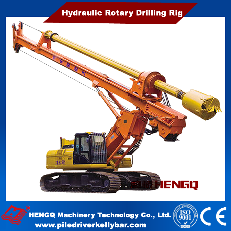 2016 High Quality Hydraulic Rotary Mining Rock Drilling Rigs HQR360D