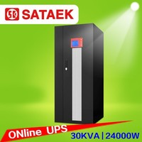 Online 3 phase ups 30kva 40kva 60kva low frequency work for industrial appliances