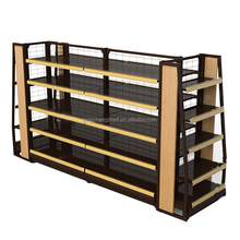 Supermarket Racking System For Import Snacks Light Duty Style Display Shelving