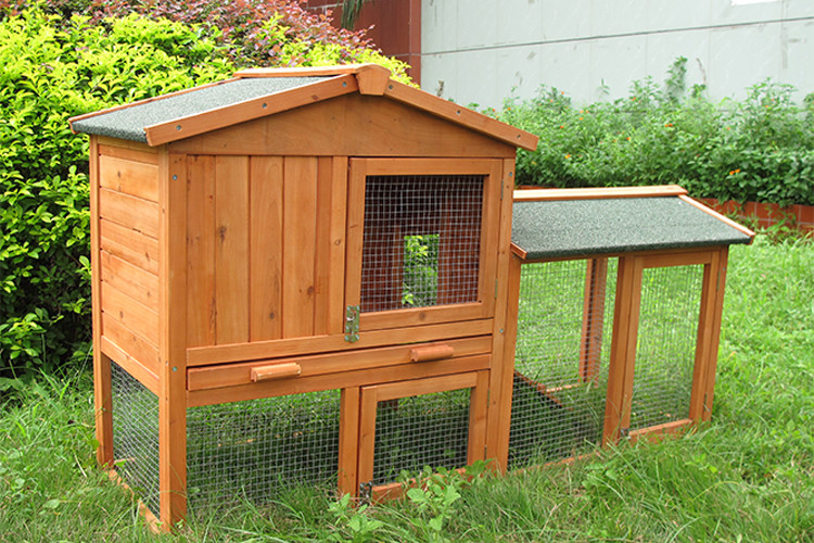 Waterproof eco-friendly outdoor flat pack rabbit mesh cage