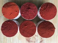 Iron oxide red stains for ceramics ceramic iron oxide pigment