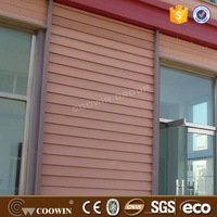 Outdoor red wood wood plastic composite wall siding laminate boards