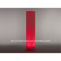 Lighted Acrylic Floor Column for events