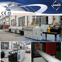 PVC water supply draining pipe making manufacturing machine price