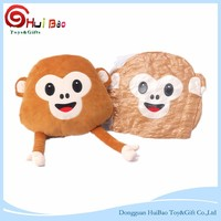 2016 OEM fashion toys Lovely Soft Stuffed toys cute monkey