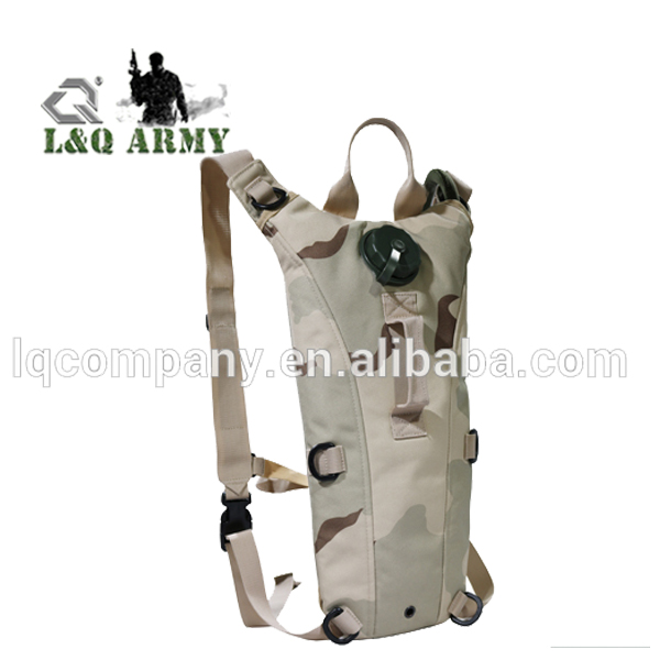 Tactical Modular Hydration Backpack for Camel Hydration System