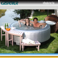 PVC Rectangular Hot Spa Tub