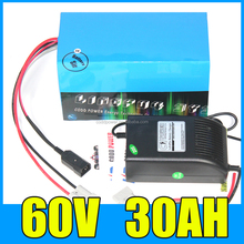 CE Approved 60v 30ah lithium li-ion battery 18650 cell for schwinn electric bike