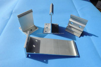 Aluminium alloy metal roof and wall system accessories T shape bracket/roof support/roof barcket