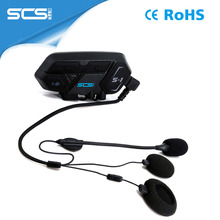 Wireless motorcycle audio Intercom outdoor with MIC Speaker headset