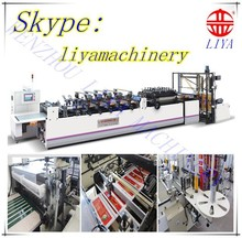 LY Series Sharped die cutter bag making machine, automaitc control by servo motor. different size