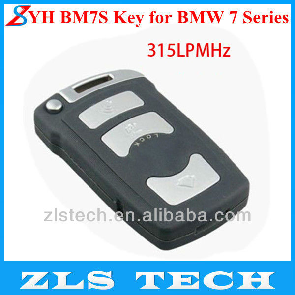 Original YH BM7S Key for BMW 7 Series 315LPMHZ Car Key Blanks