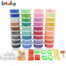 LitoJoy Jumping clay 36 Colors, Delux pack, colorful, Fun, Inspiraing