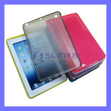 Full Protector 4 Angel Pack Tablet TPU Semi Smooth Transparent Case for iPad Mini