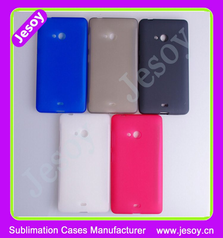 JESOY Matte Soft TPU Back Case Cover For Nokia Lumia 720