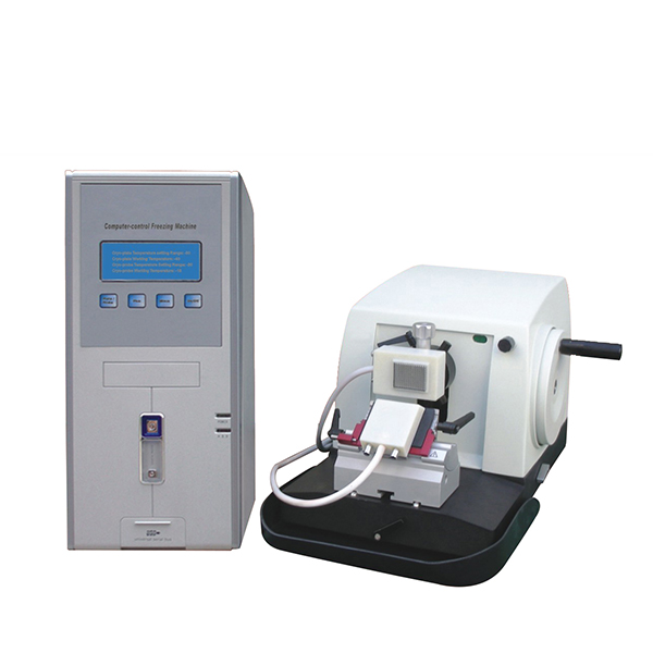 KD-2258S-III LCD screen Semi auto Cryostat Microtome with Fast Freezing machine