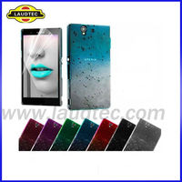 Raindrop Waterdrop Hard Crystal Back Case for Sony Xperia z L36H