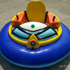 China most attractive kids mini round battery bumper car for sale