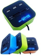 Hot selling USB 2.0 All in one memory card reader, Support SD card