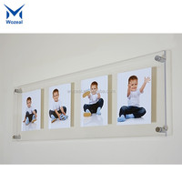 Acrylic Photo Crystal Printing Glass Photo Frame for Crystal Gifts
