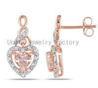 2014 Pure Sterling Silver Summer bali Jewelry chandelier earring wholesale