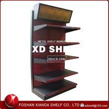 Metal Wall Mount Display Shelf for Retail Stores