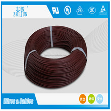 high voltage silicone coated fiberglass braid insulated wire