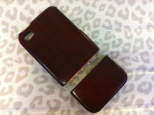 red wood case back cover for iphone 4g 4s