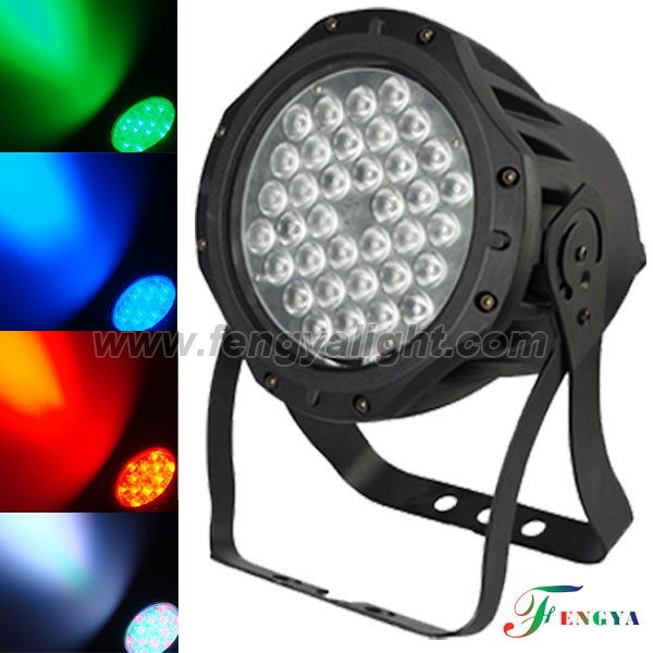 waterproof rgbw 36x3w 3/7CH 3IN1 King led par can stage led dj disco stage light
