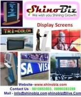 LCD Touch screen Monitor/ panel/ kiosk Display manufacturer, wall mount/ Indoor Vertical LCD TV/TFT advertising< ShinoBiz Displa