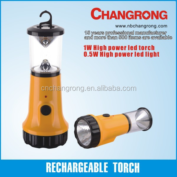Rechargeable portable lantern and colorful electric led