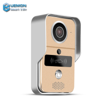 New model 720P H.264 smart IP video doorbell/ WiFi doorbell phone with Micro SD fully Duplex Intercom IR CUT
