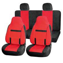 Leather Car 5 Seat Reusable Car Function Seat Cover
