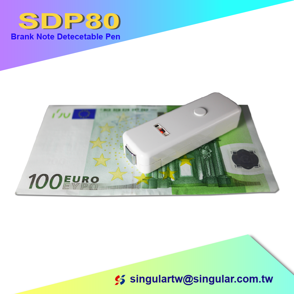 Made in Taiwan SDP80 Portable UV EURO Money Detector