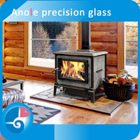 Anole sight/inspection high temperature glass ceramic glass for fireplace