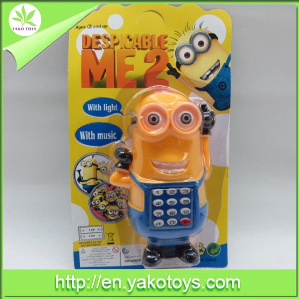 Newly electric mobile phone for Despicable Me 2