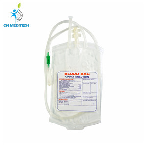 Disposable sterile transfusion blood bag