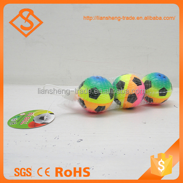 Top Quality 2.5 Inch Children Stress Pu Sponge Safety Mini Toys Balls