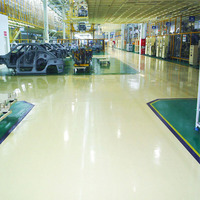 Easy Cleaning Machinery Factory Epoxy Floor Paint
