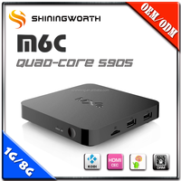 Smart Media TV Box Andndroid 5.1 OS Smart Streaming Mini HD 4K TV Box 1080P/H.265 WiFi Skype Media Player