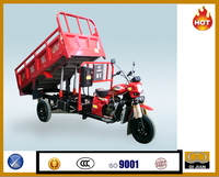 Popular good quality hydraulic cargo tricycle with Zongshen Engine