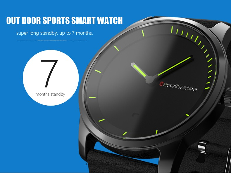 Anti-Lost N20 Smart Watch Pedometer Sleep Monitor Waterproof Swimming Sport Watches Quartz Watch Fully Rounded