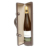 China supplier custom logo pu leather travel handle portable Single Bottle Wine Holder Case for gift wine set