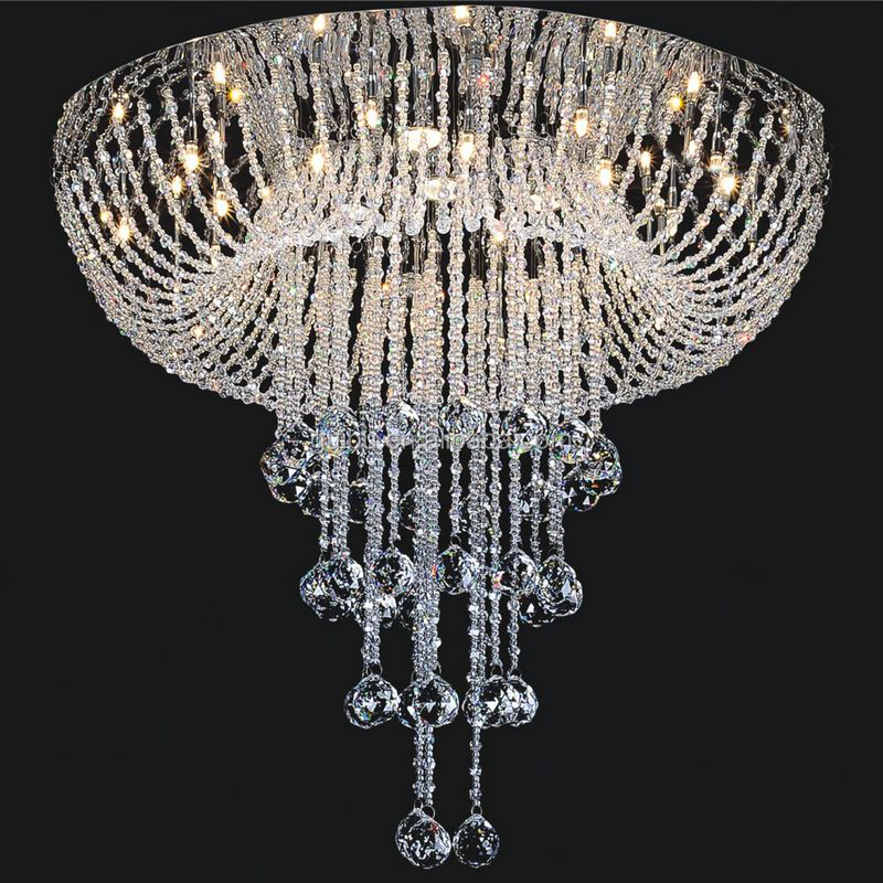 Alibaba Modern Ceiling Lights : Modern ceiling light drop crystal chandelier for