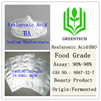 Beauty Products High quality Hyaluronic Acid Food Frade