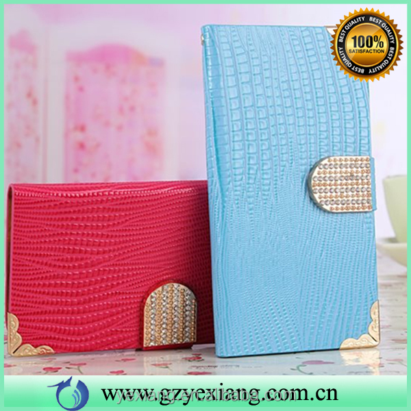 2016 trending products leather stand case for Samsung galaxy note 3 flip wallet cover with card holder