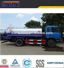 Dongfeng 4x2 diesel type 10000 liters stainless steel water tank truck